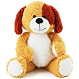 """Beverly Hills Teddy Bear Company 20"""" Patches Puppy Plush"""