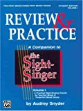 Sight Singer Review I, Audrey Snyder, 0769246540