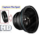 Professional MK III HD Fisheye Lens With Super Macro for Nikon D5500 D3400 D5600 (52mm or 55mm Compatible)