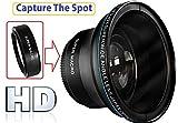 Hi Def MK III Fisheye Lens For Canon VIXIA HF R80 R82 R800
