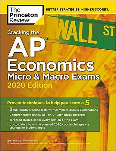 Amazon com: Cracking the AP Economics Micro & Macro Exams