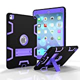 Beimu For iPad Pro 9.7'' Case, iPad Air 2/iPad 6 Case,3in1 Full-body Heavy Duty Armor Defender Shock-Absorption / High Impact Resistant PC+Silicone with Built-in Kickstand for iPad Pro/iPad Air 2