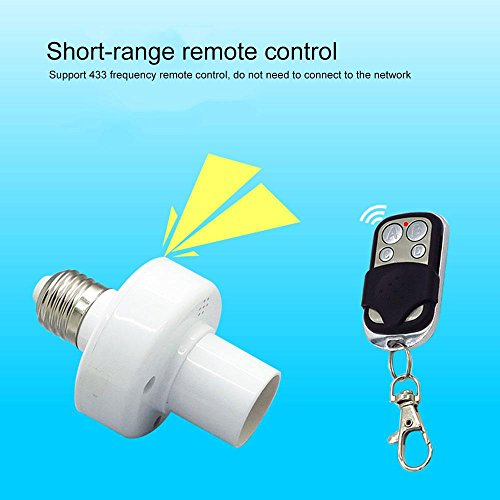 Leegoal Smart Light Socket, Wifi Bulb Socket E26 Intelligent Lamp Holder Plug, Works Alexa Google Home, Phone APP Remote Control Your Fixtures From Anywhere Timing Function by Leegoal (Image #2)