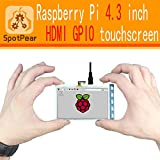 Raspberry pi 4.3 inch touchscreen HDMI LCD more smarter than 5inch LCD and 7 inch LCD