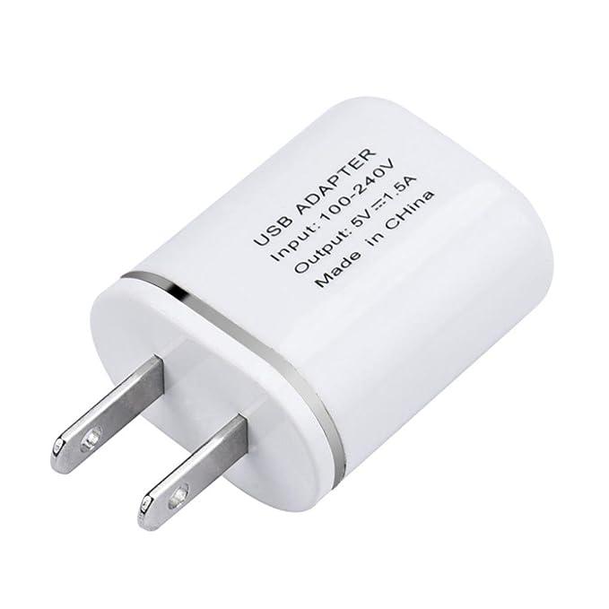 Cargador de pared con entrada USB de Aobiny para iPhone, Samsung ...