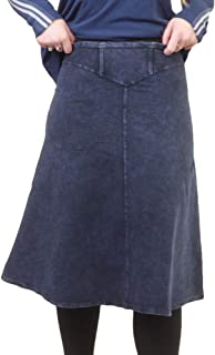 product image for Hard Tail Forever Cotton Yoke Knee Skirt Style W-378