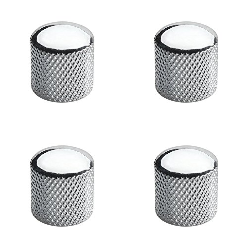 guitar knobs chrome - 1