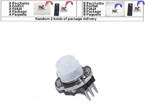 1 unidad MH-SR602 Mini sensor de movimiento detector módulo PIR piroeléctrico Kit Sensory Switch Bracket para arduino DIY con lente: Amazon.es: Bricolaje y herramientas