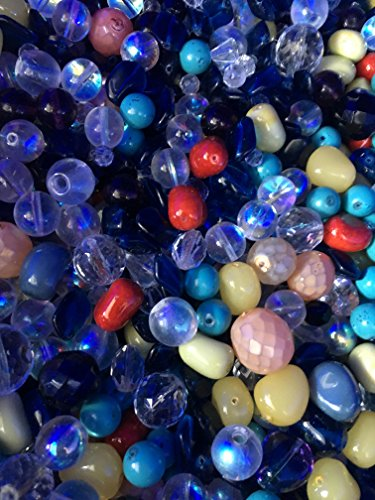 - Darice Bulk Buy DIY 1 lb Glass Beads Assorted Shapes, Colors and Sizes (3-Pack) 0726-70