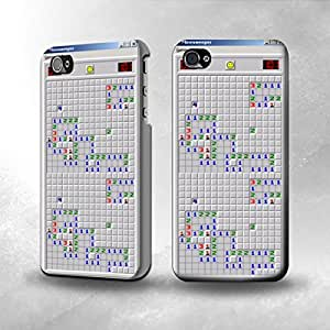 Apple iPhone 4 / 4S Case - The Best 3D Full Wrap iPhone Case - Minesweeper Game