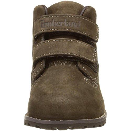 Timberland Pokey Pine H L, Unisex-Kinder Kurzschaft Stiefel Dark Brown