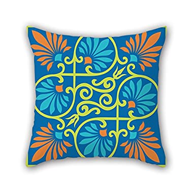 NICEPLW 18 X 18 Inches / 45 By 45 Cm Bohemian Pillow Covers ,two Sides Ornament And Gift To Boys,festival,dinning Room,car,birthday,bench