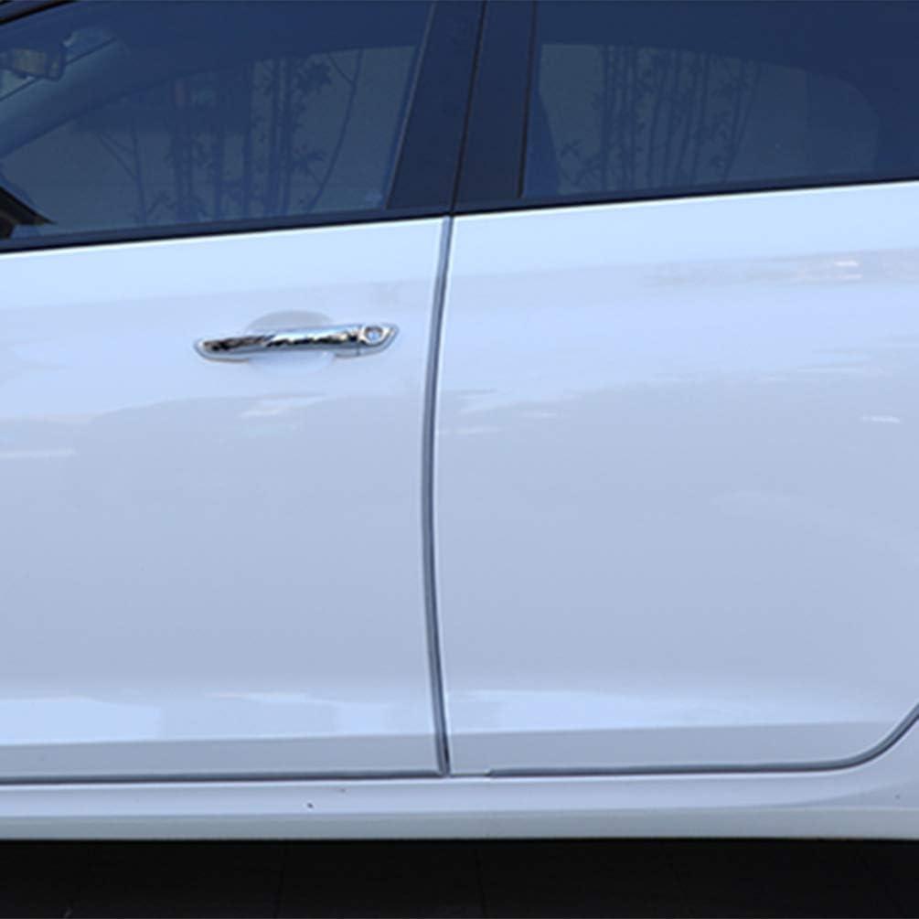 Yellow Wakauto 5M Universal Car Door Edge Scratch Protector Sealing Guard Strip Auto Door Decor