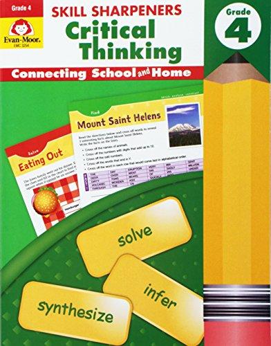 Skill Sharpeners Critical Thinking, Grade 4
