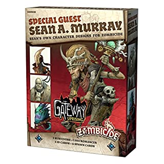 CMON GUF039 Zombicide Green Horde: Special Guest Artist: Sean A. Murray Game