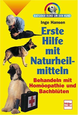 Erste Hilfe mit Naturheilmitteln. Ratgeber rund um den Hund.