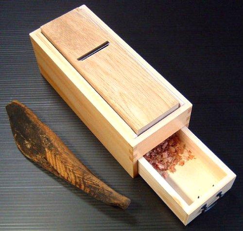 Kiso craft Kiso hinoki bonito sharpener by Kiso crafts