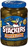 Vlasic Pickle Stackers, Bread & Butter, 24 Ounce (Pack of 12)