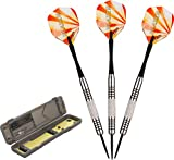Fat Cat Blazer Steel Tip Darts with Storage/Travel Case, 23 Grams