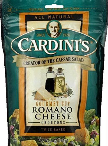 Gourmet Cut Romano Cheese Croutons 5 Ounces (Case of 12)