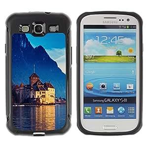 Suave TPU GEL Carcasa Funda Silicona Blando Estuche Caso de protección (para) Samsung Galaxy S3 III I9300 / CECELL Phone case / / Castle In Switzerland /
