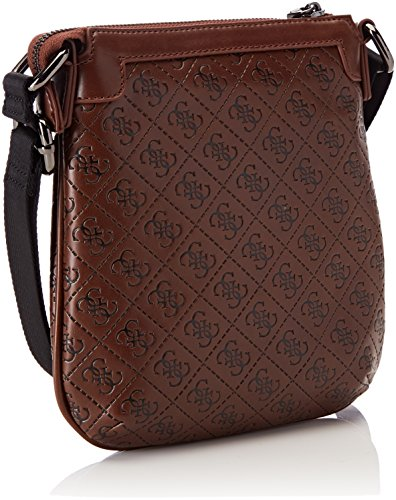 2 Men's Crossbody W cm Shoulder 5x22 L Bag Brown H Bags 5x21 x Tobacco Guess ZfBq0E