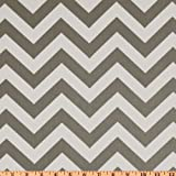56'' Wide Premier Prints Zig Zag Twill Storm Fabric By The Yard