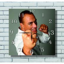 Jean-Claude Van Damme 11.8'' Handmade Wall Clock - Get unique décor for home or office – Best gift ideas for kids, friends, parents and your soul mates