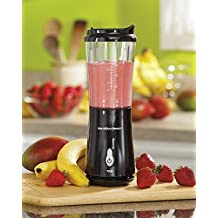 Hamilton Beach Black Electric Personal Blender Smoothie Maker Travel Cup Lid New by Destinie