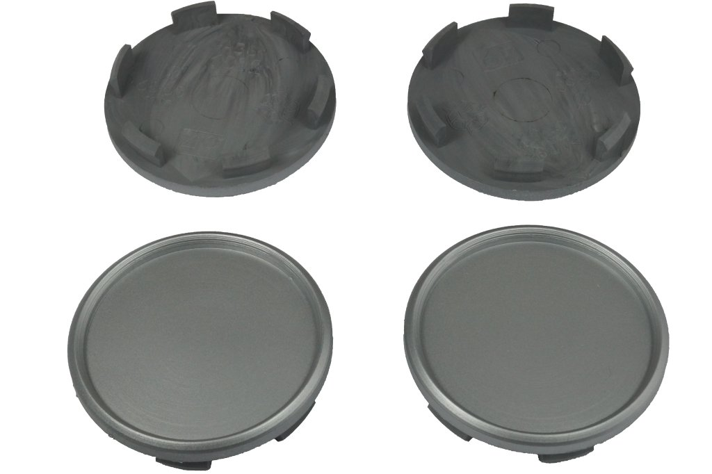 White Label 4 x Au/ßen 68,0mm Innen 62,5mm Nabenkappen Felgendeckel Radnabendeckel