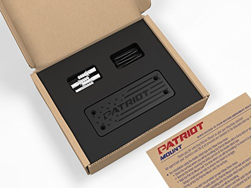Patriot Magnetic Gun Holster, Quick Access Concealed Carry | Firearm Handgun Holster for Pistols, Revolvers, Rifles, Shotguns | Cars, Trucks, Wall, Desk