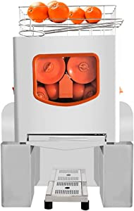 Peitten Commercial Orange Juicer, Upgrade Citrus Juicer Machines with Stainless Steel & Plastic, 120W Lemon Automatic Squeezer Juicer, Easy Clean, Anti Drip (Juicers, Style 1)