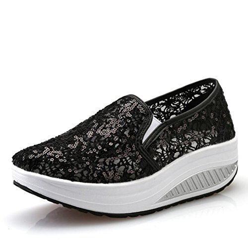 Chaussures Printemps Sneakers Secouant Conduite plats Chaussures Ons Slip Maille Chaussu Secouer Chaussures Automne Chaussures Shake Mocassins de Chaussures sport Fitness Chaussures Femmes D amp; Mocassins dqEZHE