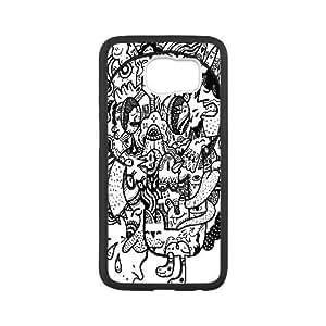 Old Skull Samsung Galaxy S6 Case, [White]