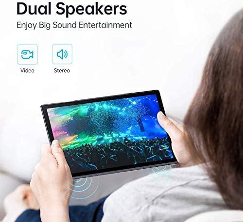 VANKYO MatrixPad S10 10 inch Tablet, 2 GB RAM, 32 GB Storage, Quad-Core Processor, Android OS, 10.1″ IPS HD Display, Wi-Fi, USB Type C Port, GPS, FM, Slate Black 51BC3bq0RNL