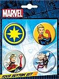 Ata-Boy Marvel Comics Ms. Marvel Assortment #2 Set