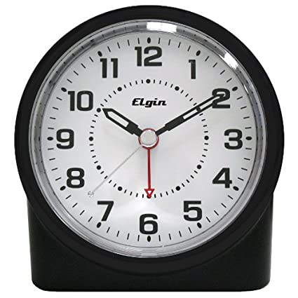 MEKBOK Quartz Analog Clock with Auto Sensor Backlight
