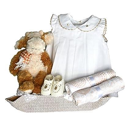 Canastillas para bebé - Paseo Moly beige - cesta regalo recién ...