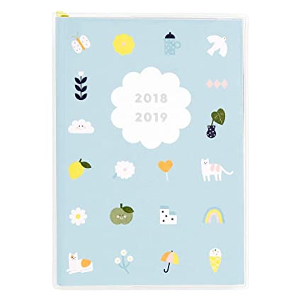 kikki.K 18/19 A6 Weekly Diary: Cute