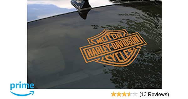 HARLEY DAVIDSON FAMILY REAR WINDOW DECAL KIT MADE IN USA