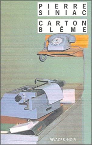 Carton blême - Pierre Siniac