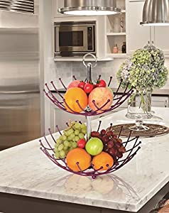 Fruit Basket Stand By Luxe Premium