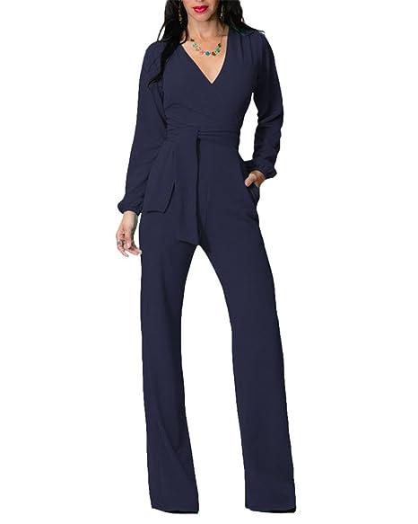 db3db45d28d2 Gladiolus Tuta Elegante Pantaloni Lungo Jumpsuit Vestito Abito Cerimonia da  Donna