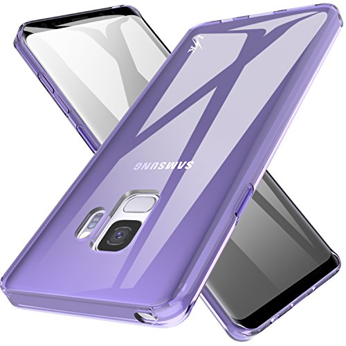 (Galaxy S9 Case, LK Ultra [Slim Thin] Scratch Resistant TPU Rubber Soft Skin Silicone Protective Case Cover for Samsung Galaxy S9)