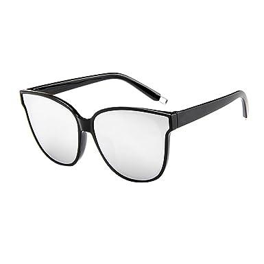 Morran Gafas de Sol Mujeres Gafas de Vista Brillantes Espejo ...