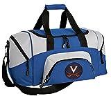 SMALL University of Virginia Travel Bag UVA Gym Workout Bag
