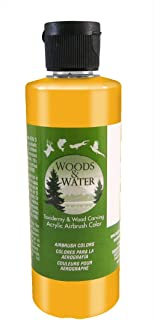 product image for Badger Air-Brush Co. 16-Ounce Woods and Water Airbrush Ready Water Based Acrylic Paint, Gold Toner
