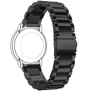Ruentech Bracelet de Rechange pour Montre connectée Polar Vantage M GPS, Noir