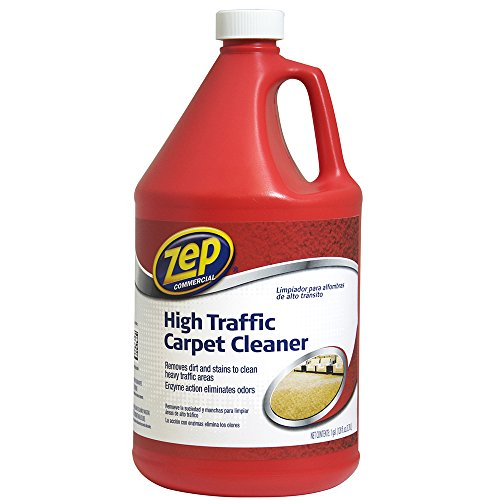 Carpet Extractor Shampoo - Zep ZUHTC128 High Traffic Carpet Cleaner