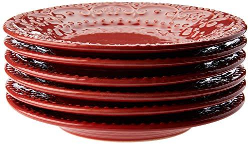 Sobremesa Porto Brasil 416584 Vermelho